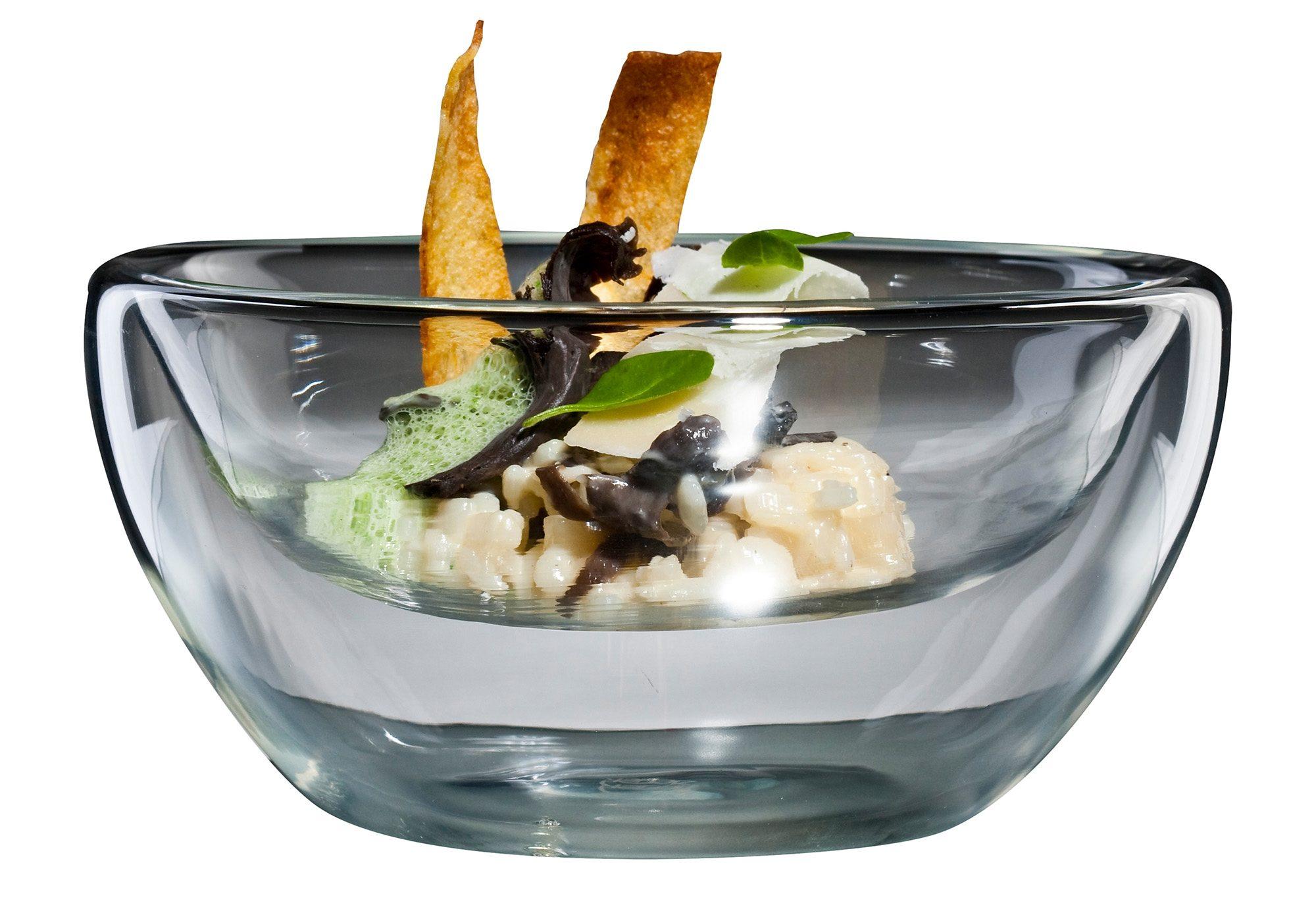 """Bloomix Thermoschüssel """"Flatbowl Grande"""" Glas (Set 4-tlg) Wohnen/Haushalt/Haushaltswaren/Kochen & Backen/Schüsseln/Thermoschüsseln"""