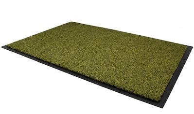 Primaflor-Ideen in Textil Fußmatte »GREEN & CLEAN«, rechteckig, 8 mm Höhe, Fussabstreifer, Fussabtreter, Schmutzfangläufer, Schmutzfangmatte, Schmutzfangteppich, Schmutzmatte, Türmatte, Türvorleger, In- und Outdoor geeignet, waschbar kaufen