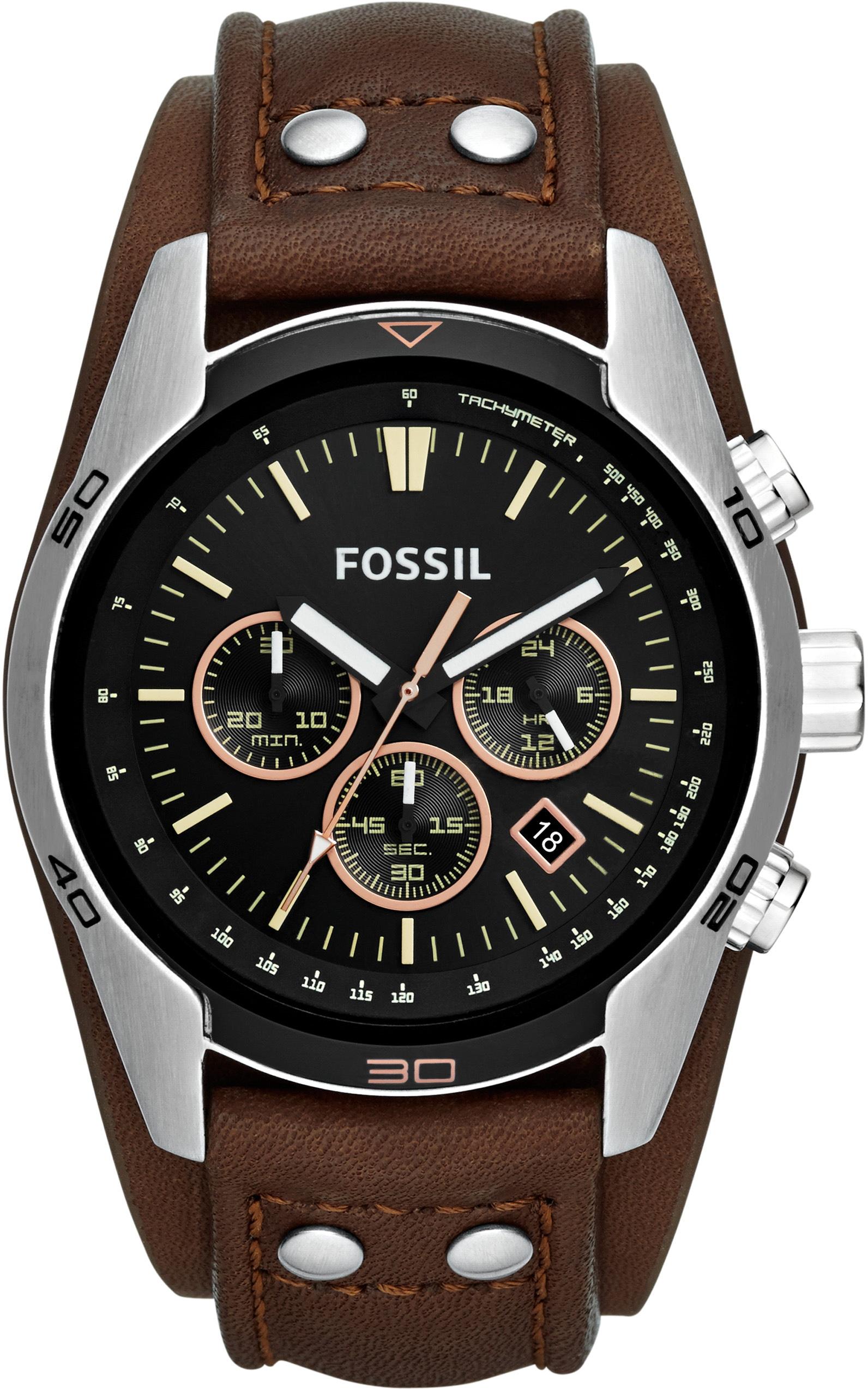 Fossil Chronograph COACHMAN CH2891 | Uhren > Chronographen | Braun | Fossil