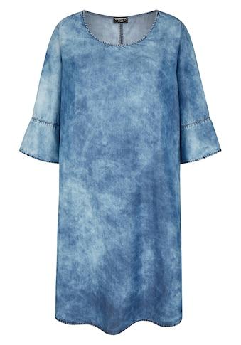 VIA APPIA DUE Modernes Kleid in Jeans - Optik kaufen