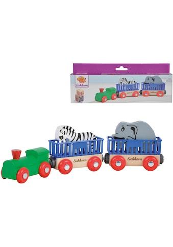 """Eichhorn Spielzeug - Eisenbahn """"Tierzug, 5 - tlg."""" (Set, 5 - tlg.) kaufen"""