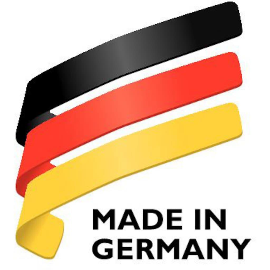 Fissler Topf-Set »bonn Topf-Set 5-tlg.«, Edelstahl 18/10, (Set, 9 tlg.), Induktionsgeeignet, Töpfe mit Glasdeckel, backofen-geeignet,Mess-Skala, Made in Germany