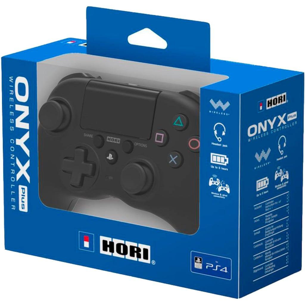 Hori Wireless-Controller »PS4 Wireless Controller Onyx PLUS«