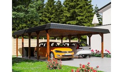 SKANHOLZ Doppelcarport »Spreewald«, BxT: 585x741 cm kaufen