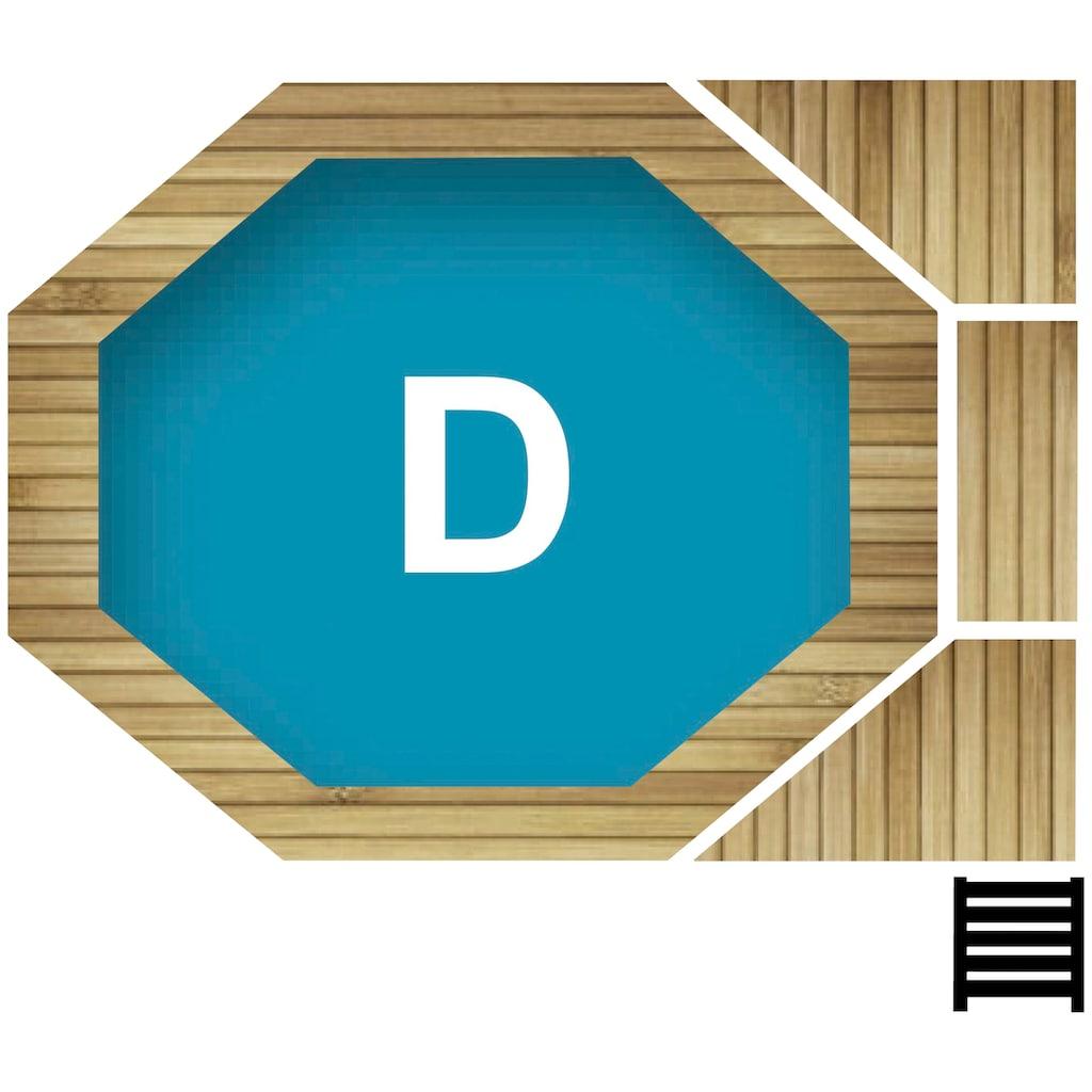 Karibu Achteckpool »D«