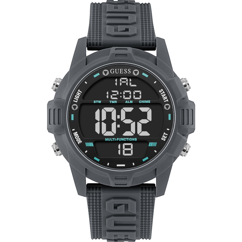 Guess Digitaluhr »CHARGE, W1299G5«