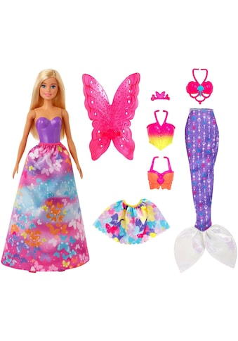 Barbie Anziehpuppe »Dreamtopia 3-in-1-Fantasie« kaufen