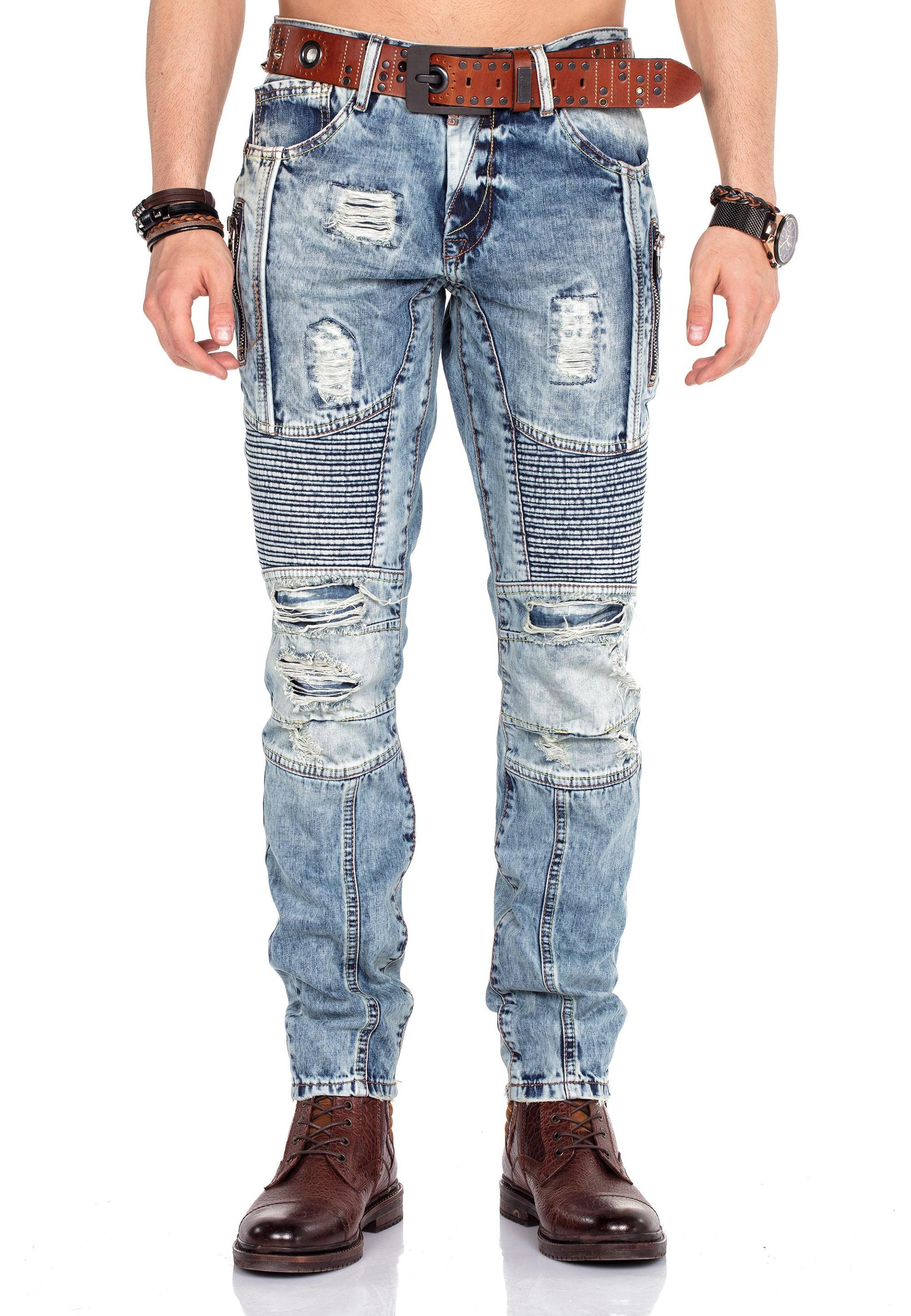 cipo & baxx -  Straight-Jeans, im Straight Fit-Schnitt