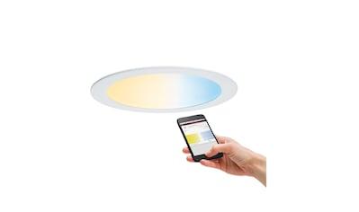 Paulmann,LED Einbaustrahler»LED Einbaupanel rund Tunable White Weiß 18W«, kaufen