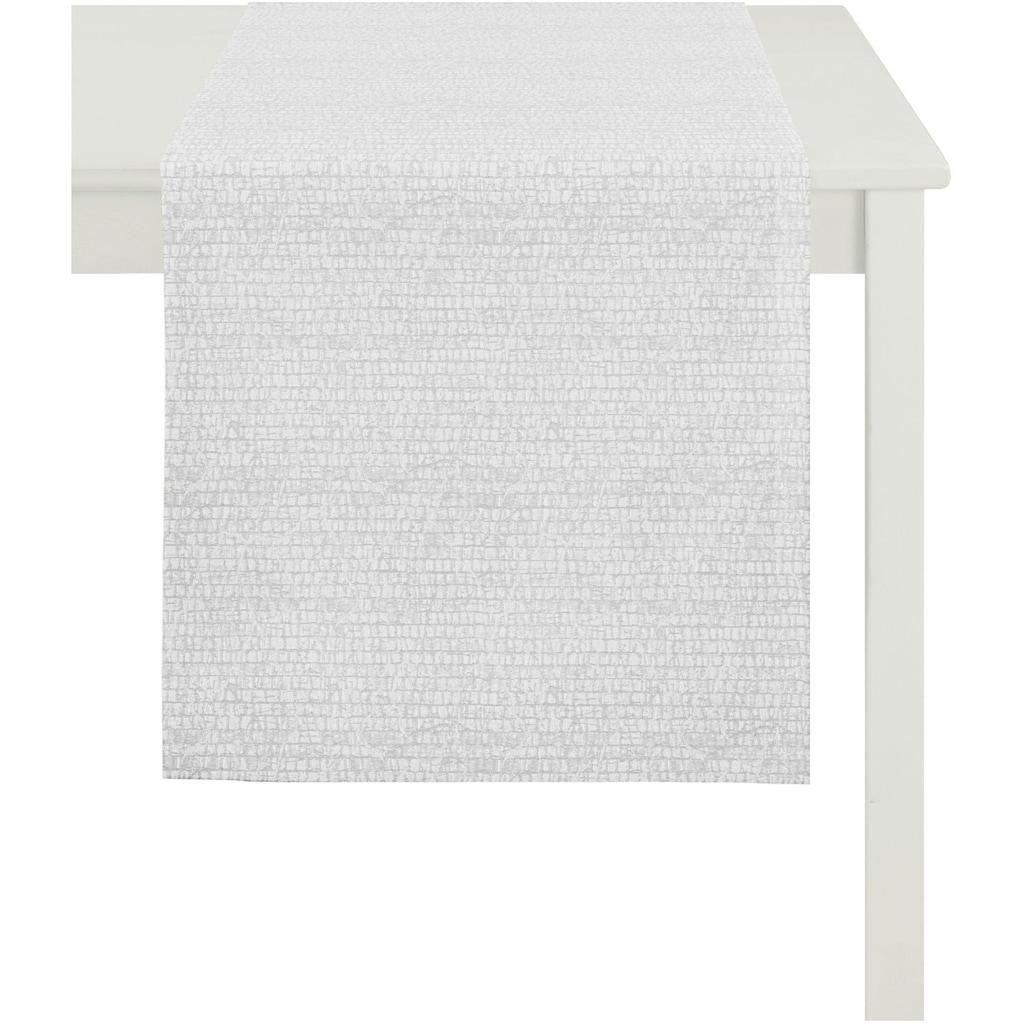 APELT Tischläufer »1103 Loft Style, Jacquard«, (1 St.)