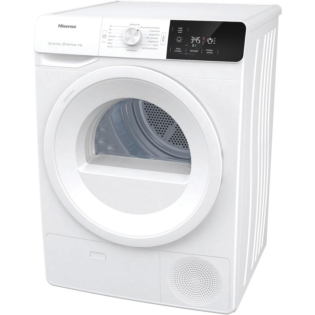 Hisense Wärmepumpentrockner »DHGE901«, 9 kg