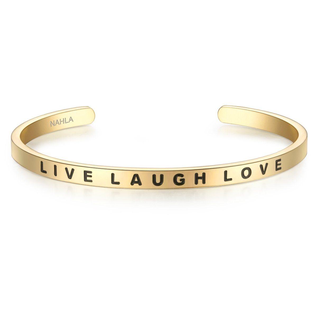 Nahla Jewels Armreif X229 | Schmuck > Armbänder > Armreifen | Goldfarben | Nahla Jewels