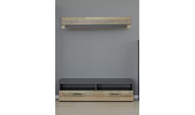 trendteam Wohnzimmer - Set »Opus« (Set, 2 - tlg TV Unterteil + Wandboard) kaufen
