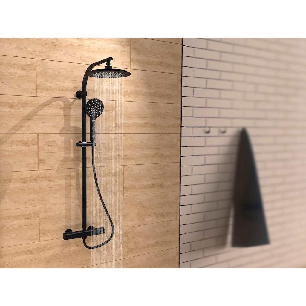 Schütte Duschsäule »MADURA FRESH«, 2 in 1 mit Regendusche und Handbrause