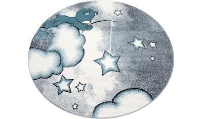 Kinderteppich, »Kids 580«, Ayyildiz, rund, Höhe 12 mm, maschinell gewebt kaufen