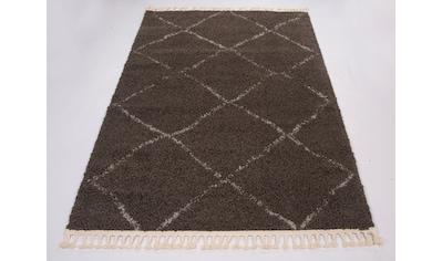GALLERY M Hochflor-Teppich »Donna«, rechteckig, 30 mm Höhe, Wohnzimmer kaufen