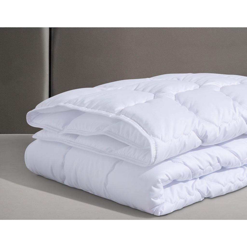 fan Schlafkomfort Exklusiv Baumwollbettdecke »Kansas«, leicht, Füllung Baumwolle, Bezug 100% Baumwolle, (1 St.), Naturfaser sowohl im Bezug als auch in der Füllung - kochfest bis 95 °C
