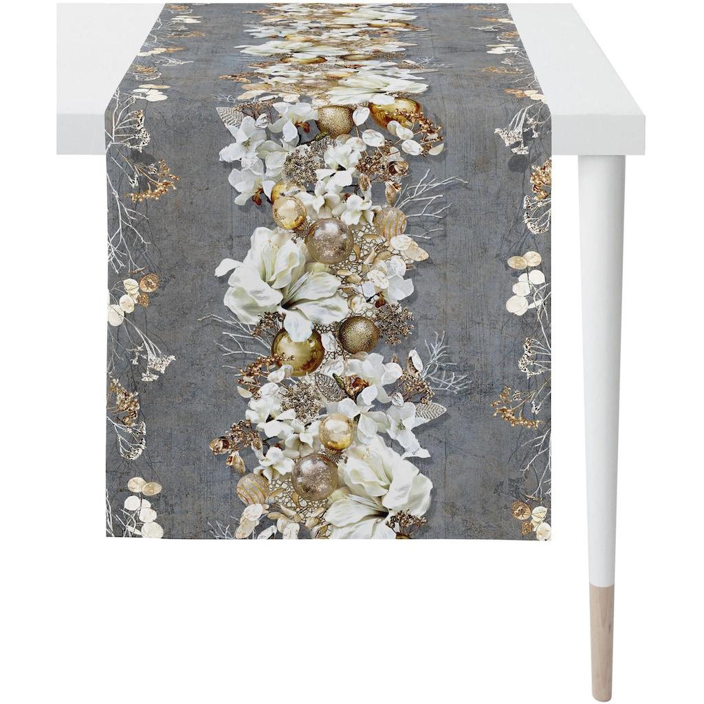 APELT Tischläufer »3621 Christmas Elegance«, Digitaldruck