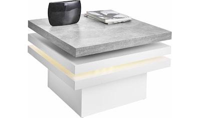 PRO Line Couchtisch, mit Funktion, drehbare Tischplatte, mit LED-Beleuchtung kaufen