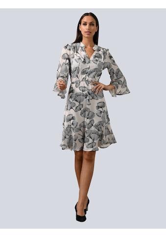Alba Moda Volantkleid, mit Volant am Ärmelsaum kaufen