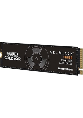WD_Black Gaming-SSD »SN850 NVMe Call of Duty Edition« kaufen