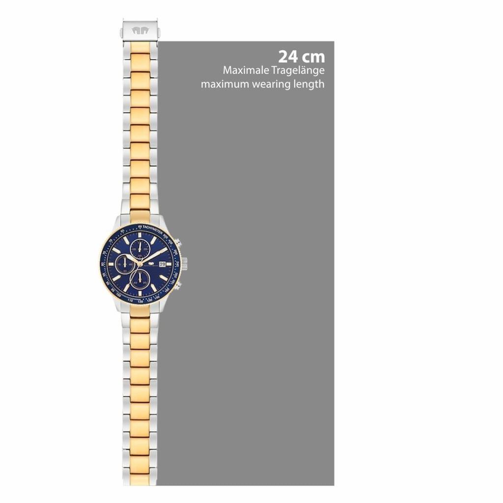 Rhodenwald & Söhne Chronograph »RWS022«, (1 tlg.), Armband aus Edelstahl