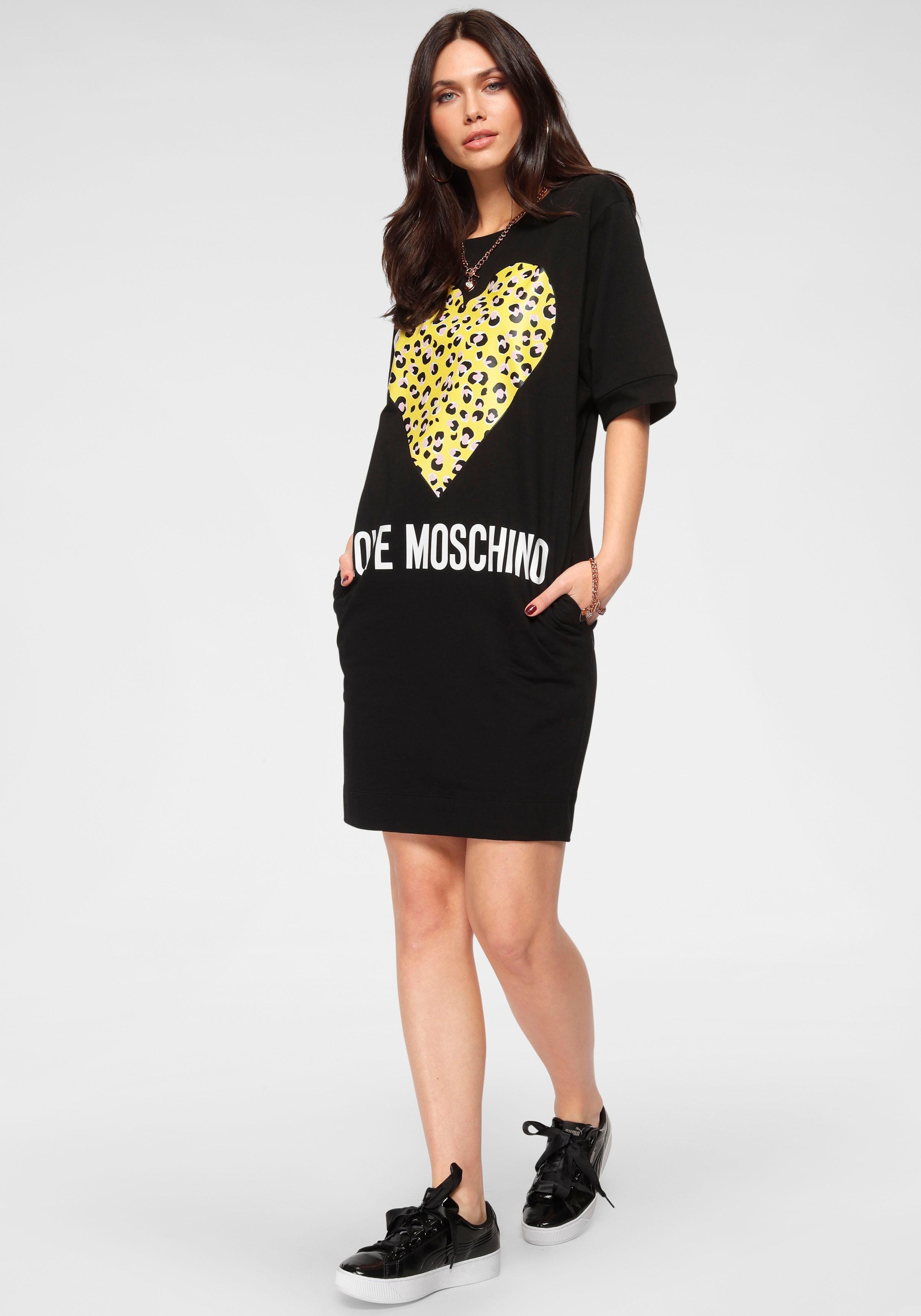LOVE MOSCHINO Shirtkleid Damenmode/Bekleidung/Kleider/Shirtkleider