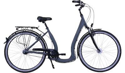 HAWK Bikes Cityrad »HAWK City Comfort Deluxe Grey«, 7 Gang, Shimano, Nexus Schaltwerk kaufen