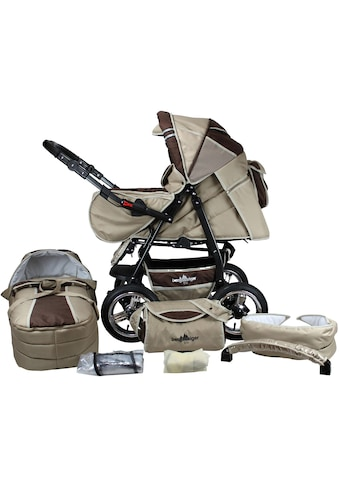 "bergsteiger Kombi - Kinderwagen ""Rio, coffee & brown, 3in1"", (10 - tlg.) kaufen"