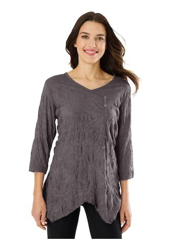 Classic Basics Shirt in angesagter Wickel - Optik kaufen