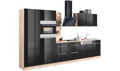 HELD MÖBEL Küchenzeile »Brindisi«, mit E-Geräten, Breite 340 cm kaufen