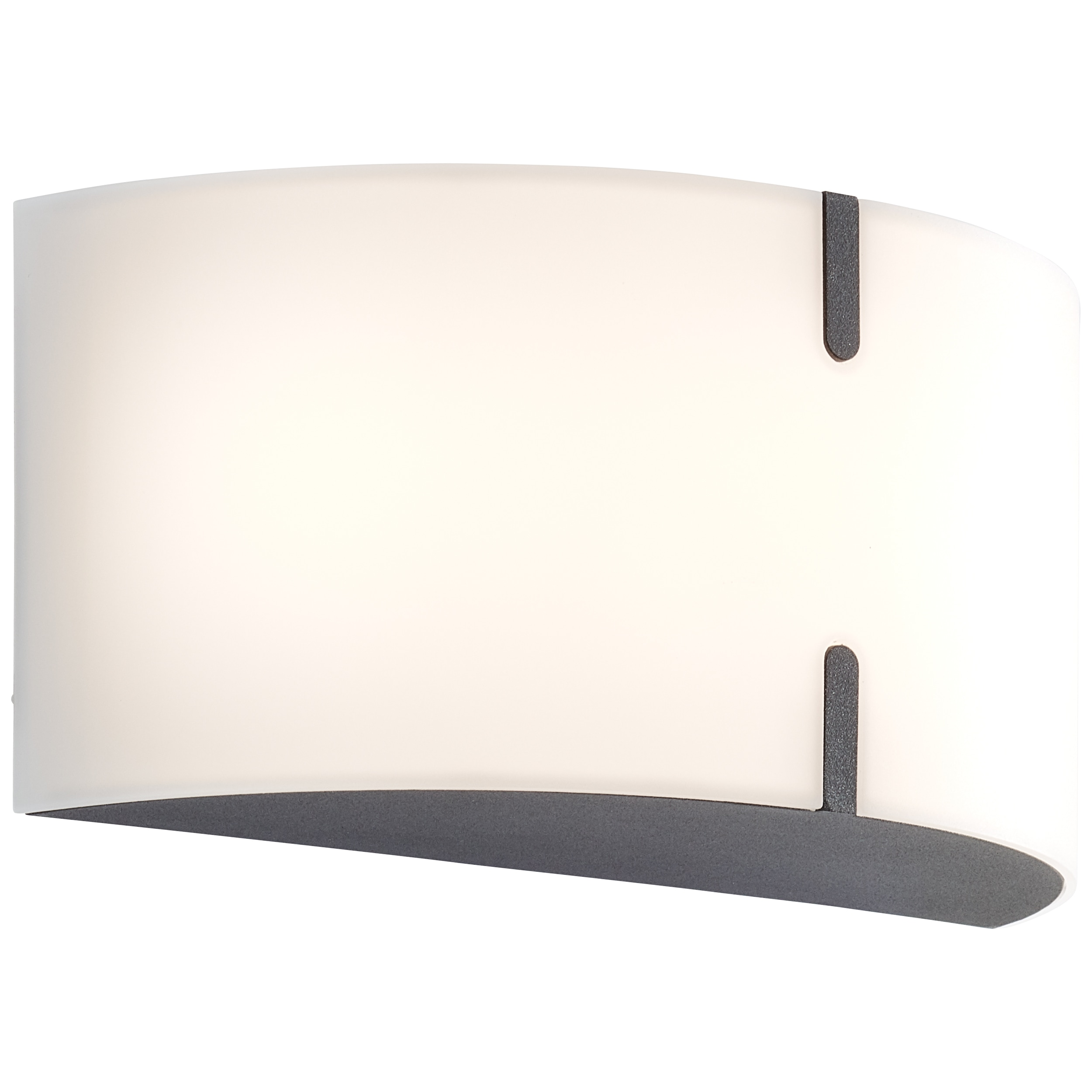 AEG Haily LED Außenwandleuchte anthrazit/weiß