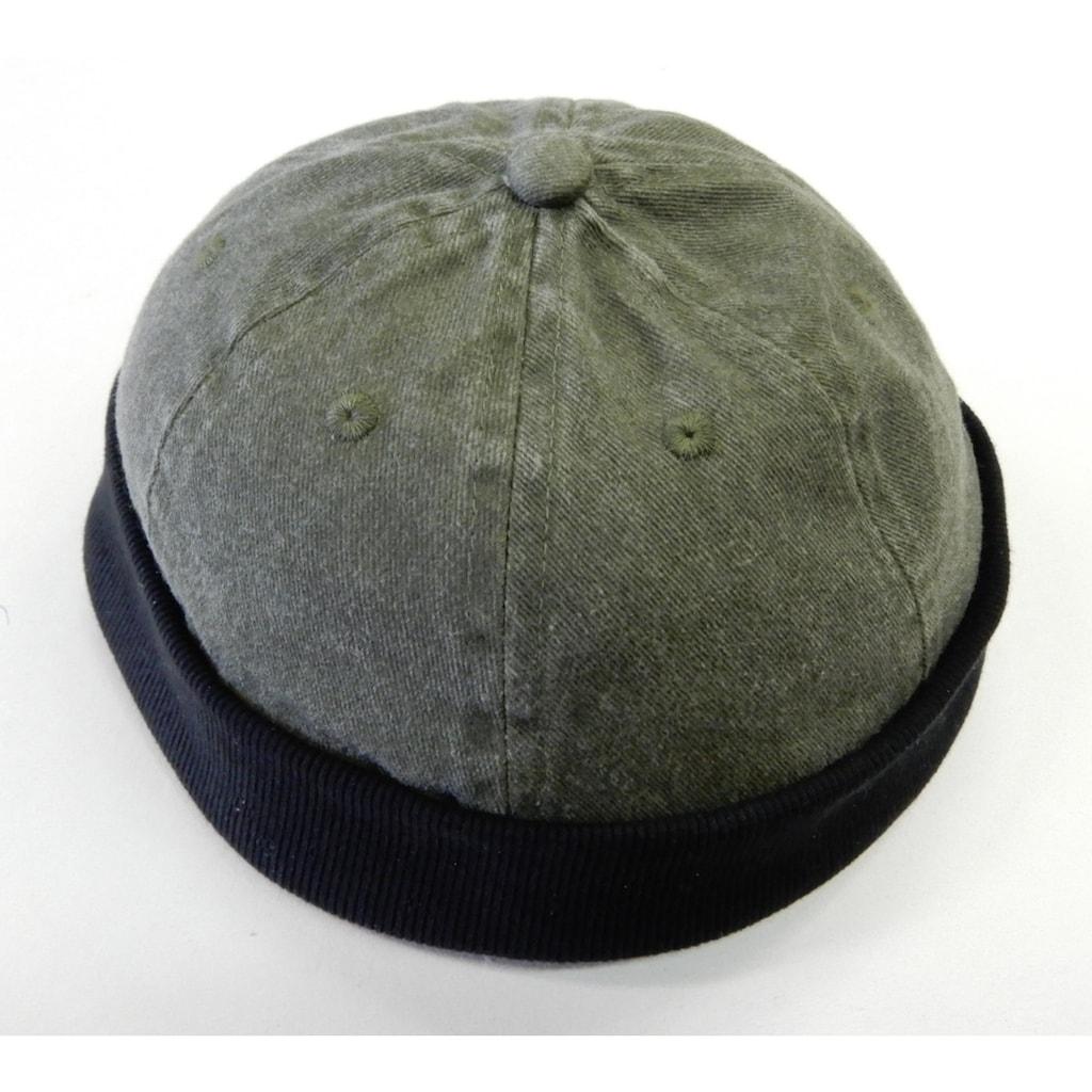 Chaplino Snapback Cap, im Used-Look
