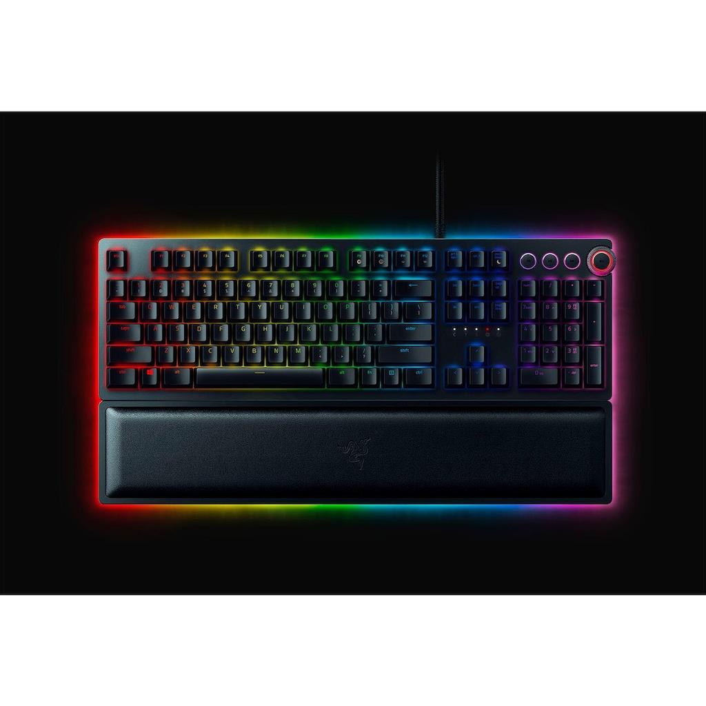 RAZER Gaming-Tastatur »Huntsman Elite«, (Ziffernblock-ergonomische Form)