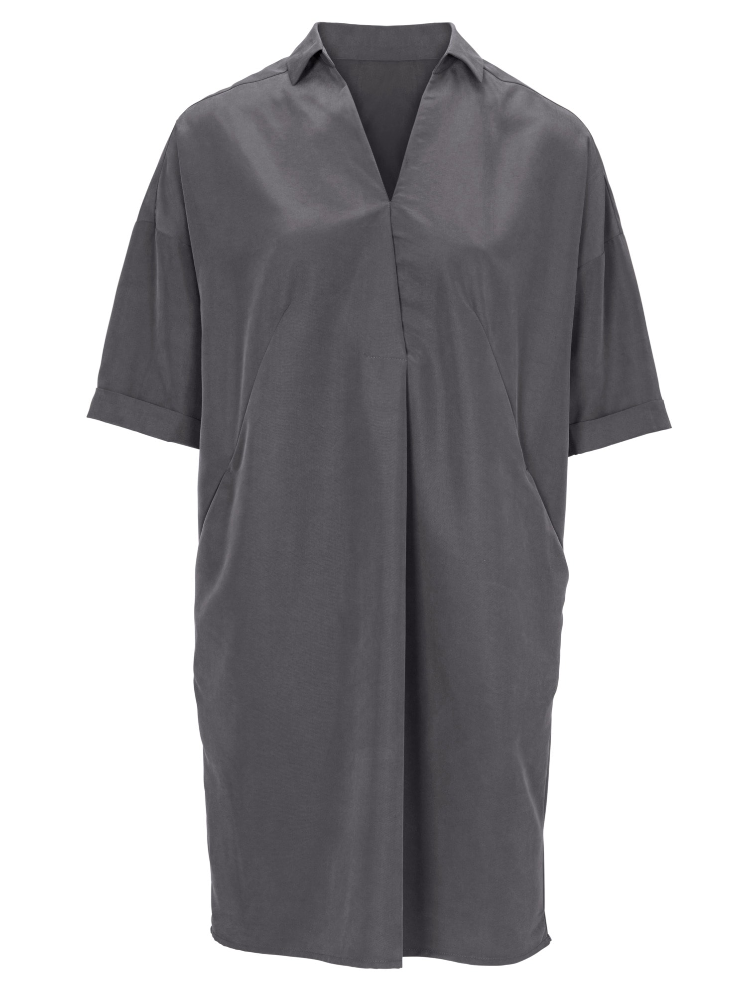 e1e25b976d736f heine STYLE Kleid mit Hemdkragen - Willi faehrt sie
