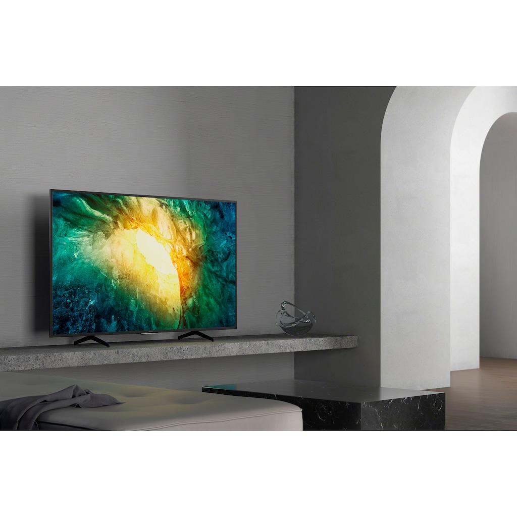 "Sony LED-Fernseher »KD55X7055 Bravia«, 139 cm/55 "", 4K Ultra HD, Smart-TV"