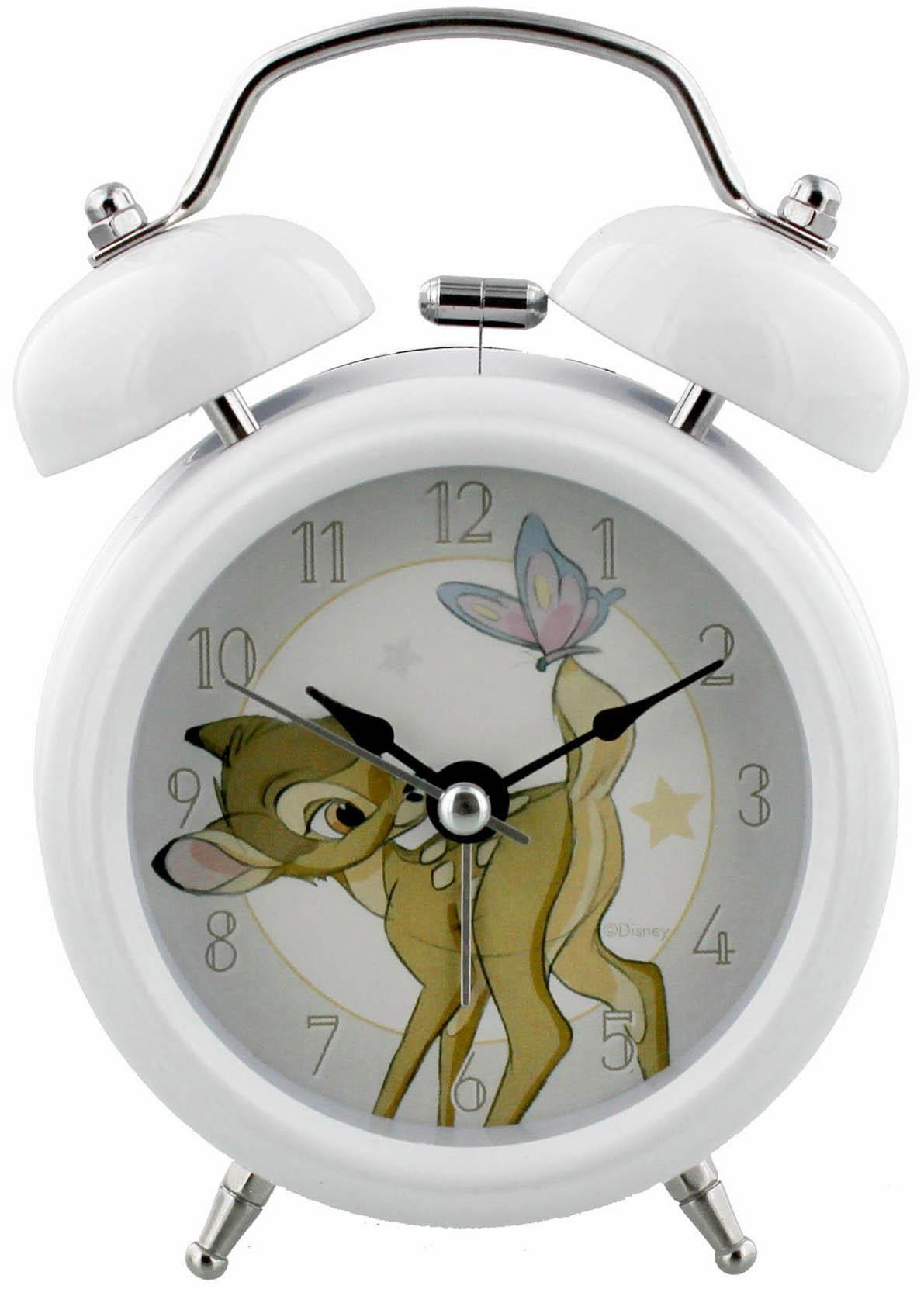 Home affaire Wecker Disney Bambi | Dekoration > Uhren > Wecker | Weiß | Home Affaire