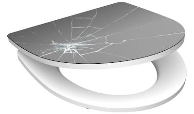 SCHÜTTE WC - Sitz »Broken Glass«, mit Absenkautomatik kaufen