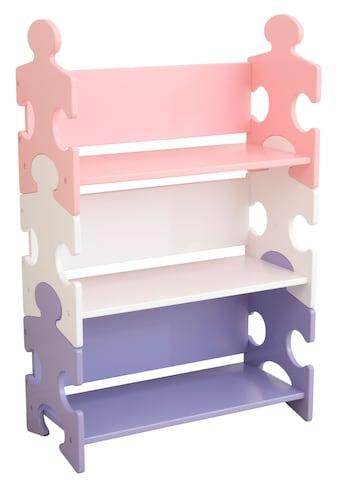 KidKraft® Bücherregal »Puzzle - Pastell« kaufen