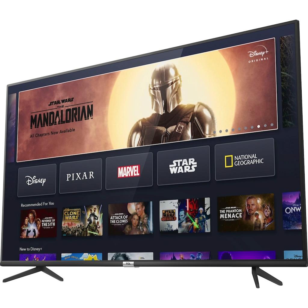 "TCL LED-Fernseher »65P616«, 164 cm/65 "", 4K Ultra HD, Smart-TV, Android 9.0 Betriebssystem"