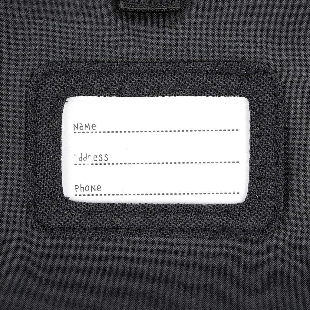 Lässig Kinderrucksack »Vintage Little One & Me Reflective Small, Black«, Reflektoren
