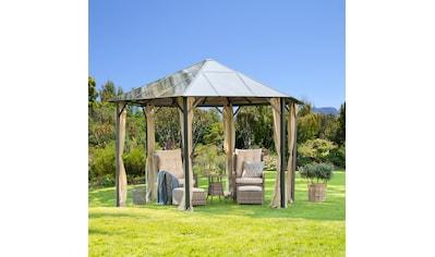 KONIFERA Pavillon »Costa Brava«, BxT: 350x350 cm, Aluminium, ohne Seitenteile kaufen