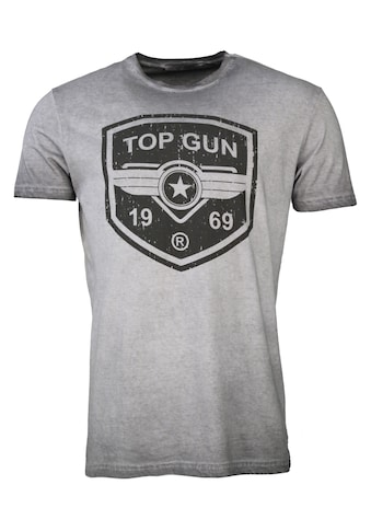TOP GUN T-Shirt »Powerful«, sportlicher Schnitt kaufen