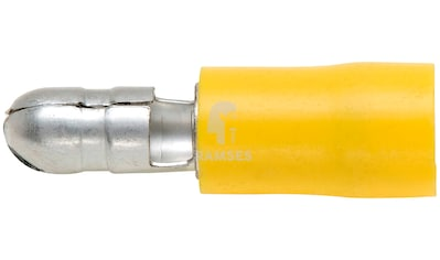 RAMSES Rundstecker - Set , teilisoliert gelb 5 mm 4  -  6 mm² 100 Stück kaufen