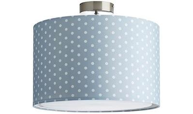 Lüttenhütt Deckenleuchte »Prick«, E27, Deckenlampe mit Punkte - Stoffschirm Ø 40 cm,... kaufen
