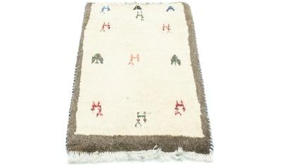 morgenland Wollteppich »Gabbeh Teppich handgeknüpft mehrfarbig«, rechteckig, 14 mm... kaufen
