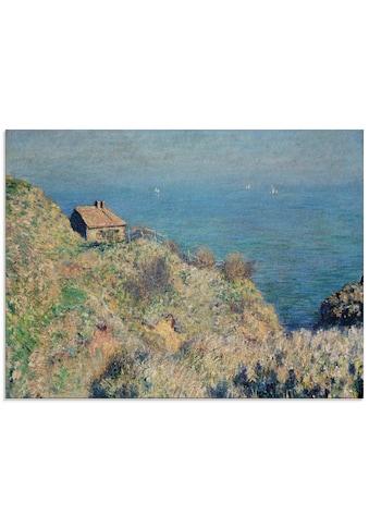 Artland Glasbild »Das Haus des Douaniers in Varengeville.«, Küste, (1 St.) kaufen