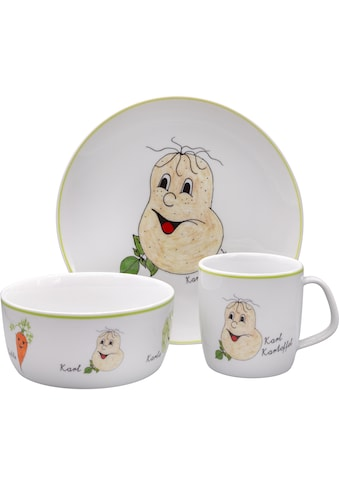 Eschenbach Kindergeschirr-Set »Gesunde Freunde Kartoffel«, (Set, 3 tlg.) kaufen