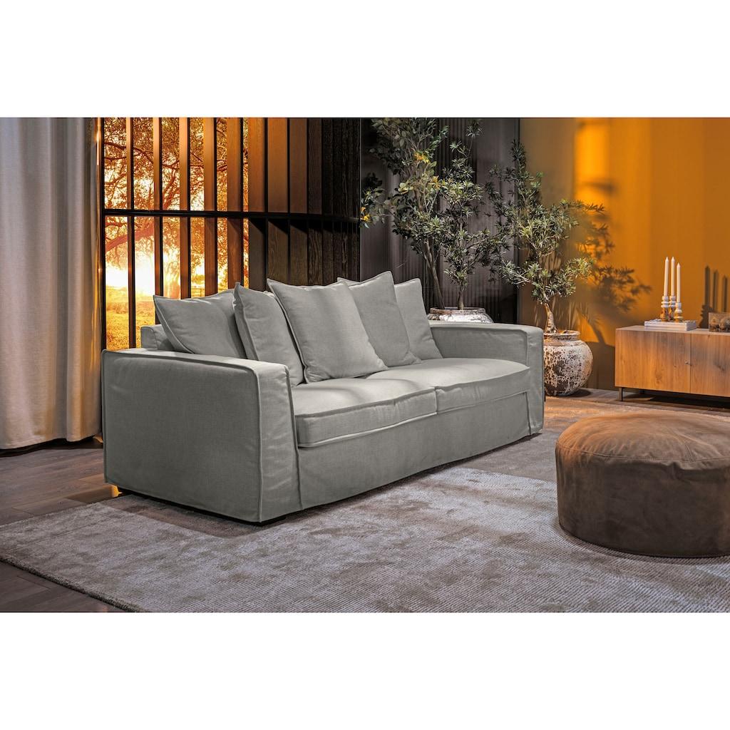 furninova 2,5-Sitzer »Montego Night«, inklusive 5 Rückenkissen, abnehmbarer und waschbarer Hussenbezug, im skandinavischen Design