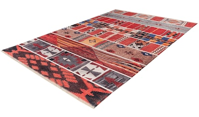 Obsession Teppich »My Ethno 260«, rechteckig, 6 mm Höhe, recycelte Materialien, mit... kaufen